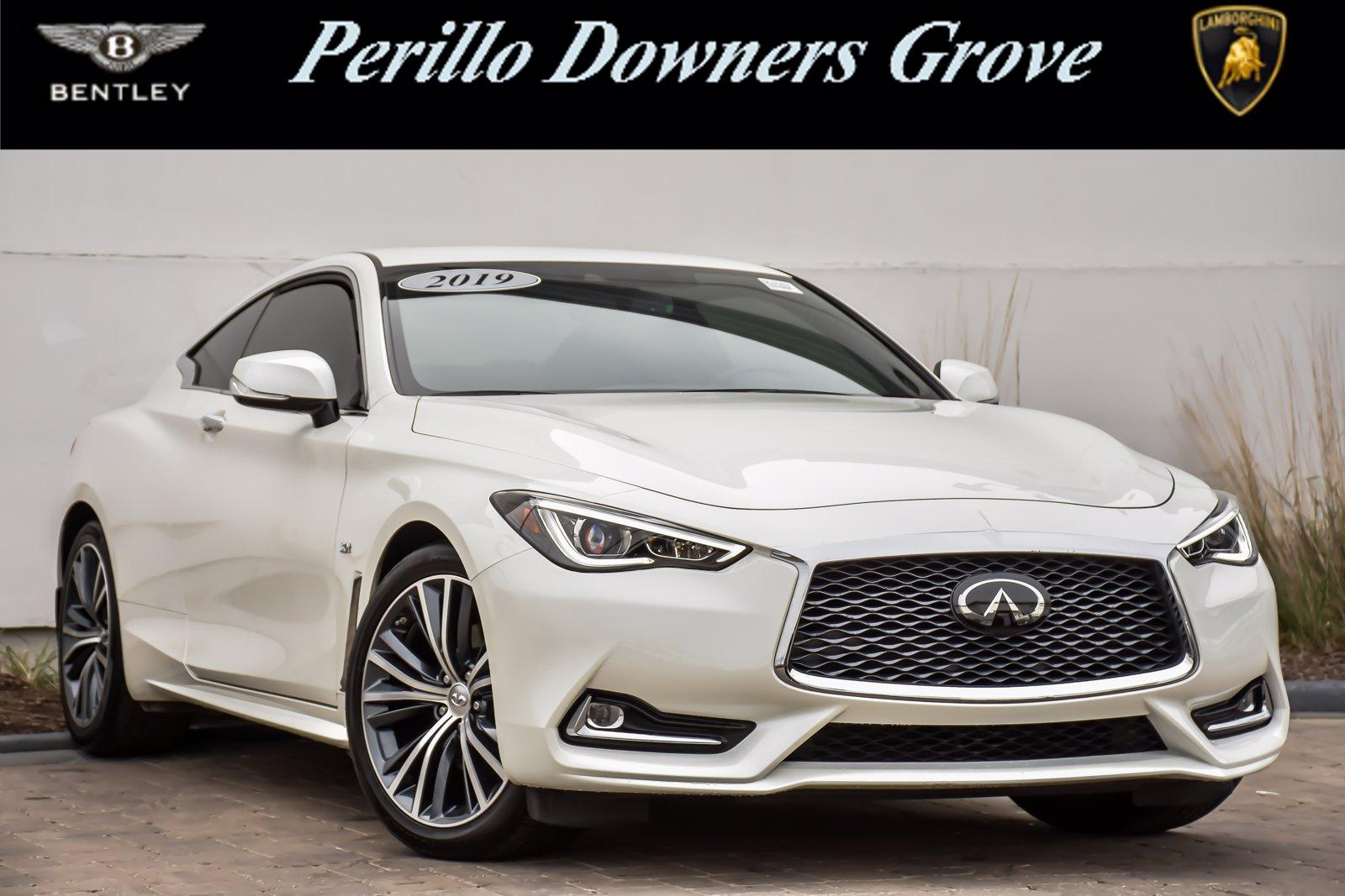Used 2019 INFINITI Q60 3.0t LUXE | Downers Grove, IL
