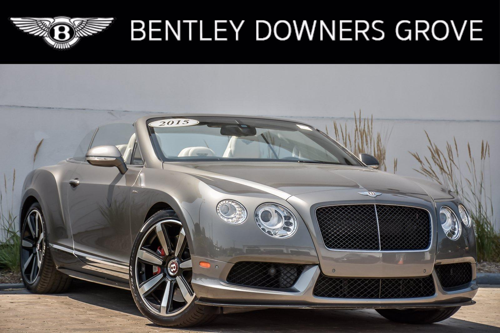 Used 2015 Bentley Continental GT V8 S Convertible | Downers Grove, IL