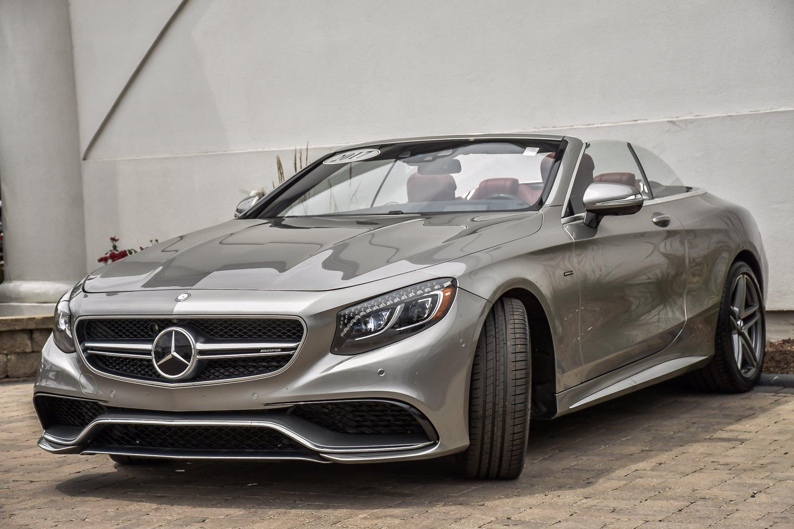 Used 2017 Mercedes-Benz S-Class AMG S 63 Cabriolet Edition 130 | Downers Grove, IL