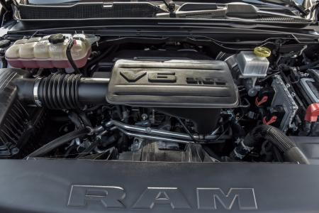 Used 2019 Ram 1500 Big Horn Black Crew Cab With Navigation | Downers Grove, IL