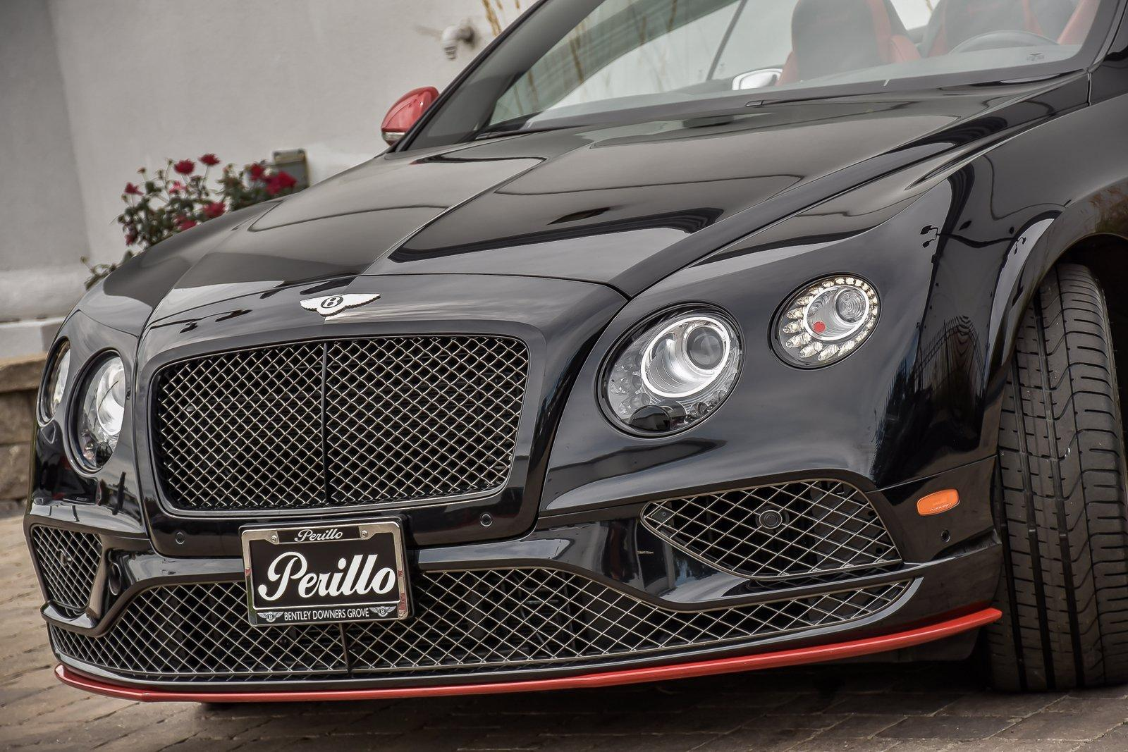 Used 2017 Bentley Continental GT Speed Mulliner Convertible Black Edition | Downers Grove, IL