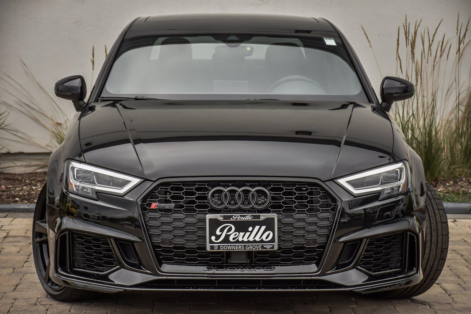 Used 2018 Audi RS 3 Black Optic Pkg With Navigation | Downers Grove, IL