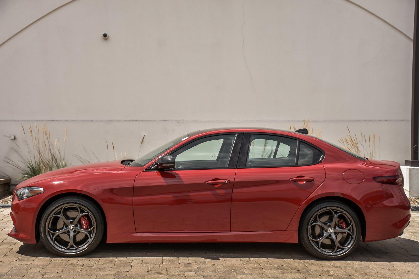 Used 2021 Alfa Romeo Giulia Ti Sport Nero Edizione With Navigation | Downers Grove, IL
