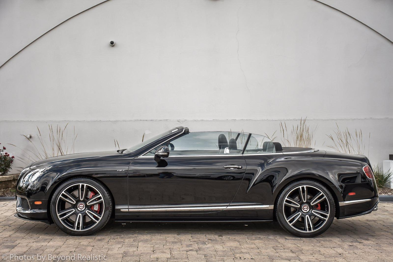 Used 2015 Bentley Continental GT V8 S Mulliner Convertible | Downers Grove, IL