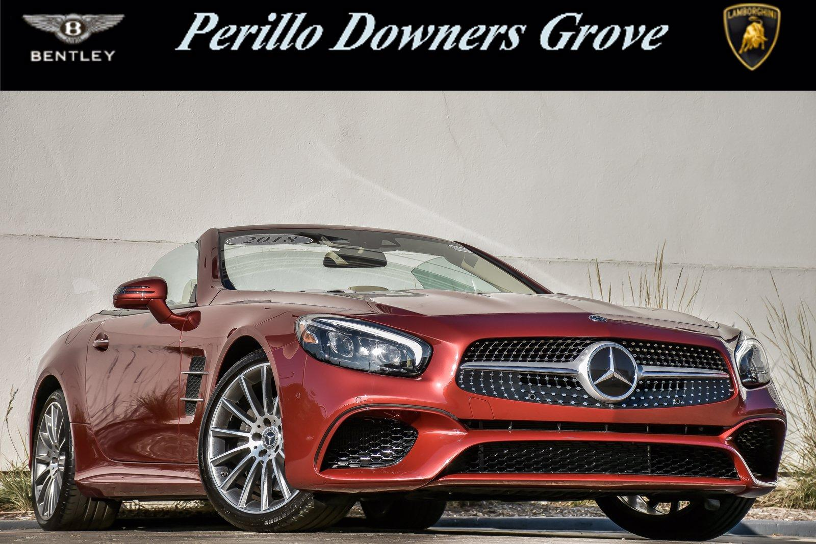Used 2018 Mercedes-Benz SL 550 Roadster | Downers Grove, IL