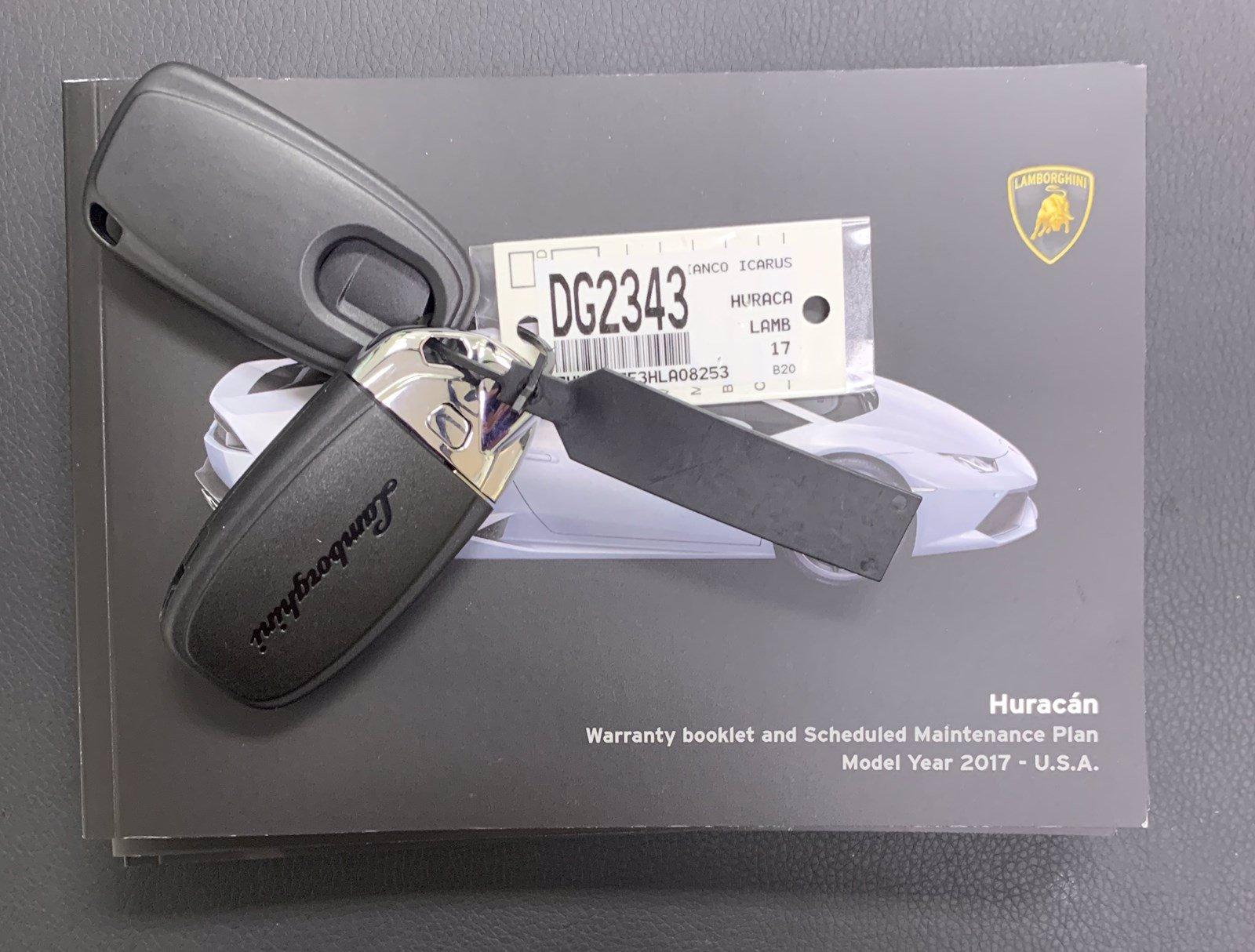 Used 2017 Lamborghini Huracan LP 580-2 Spyder | Downers Grove, IL