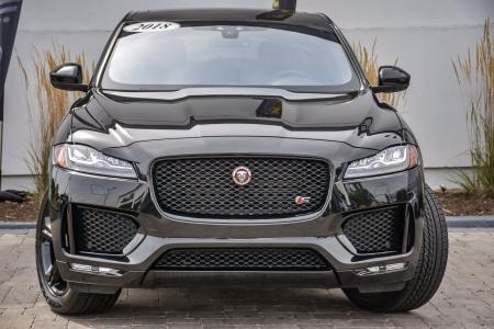 Used 2018 Jaguar F-PACE S, Black Pkg, Tech Pkg, | Downers Grove, IL
