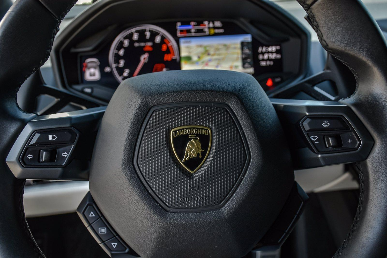 Used 2018 Lamborghini Huracan LP580-2 Spyder With Navigation | Downers Grove, IL
