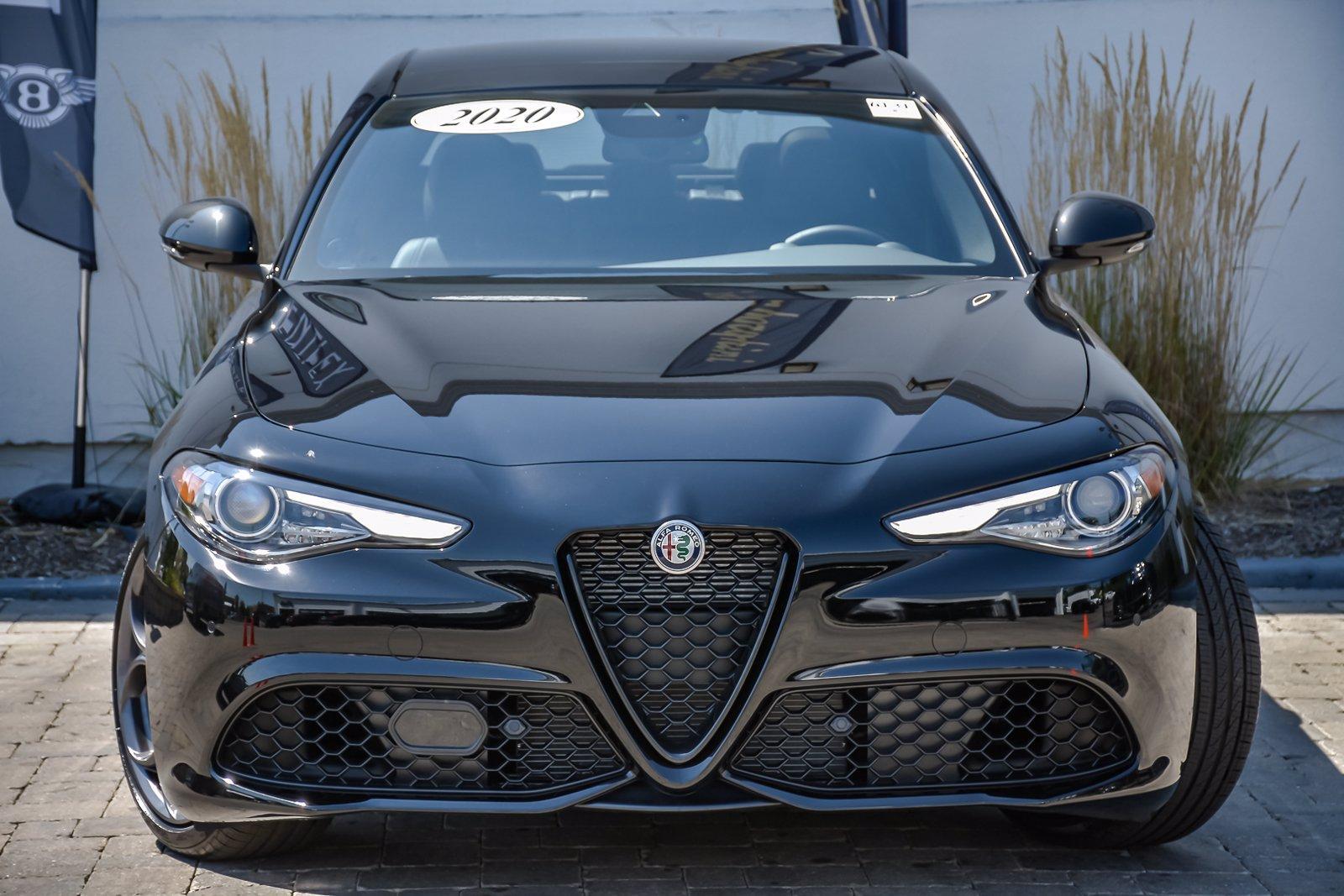 Used 2020 Alfa Romeo Giulia Ti Sport Nero Edizione | Downers Grove, IL