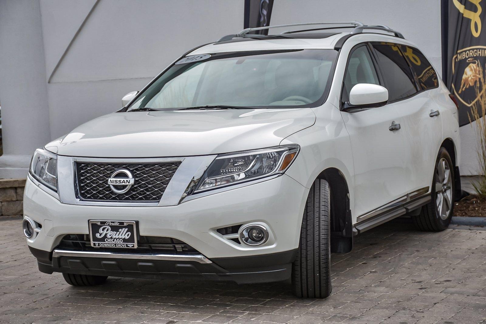 Used 2015 Nissan Pathfinder Platinum, 3rd Row, | Downers Grove, IL
