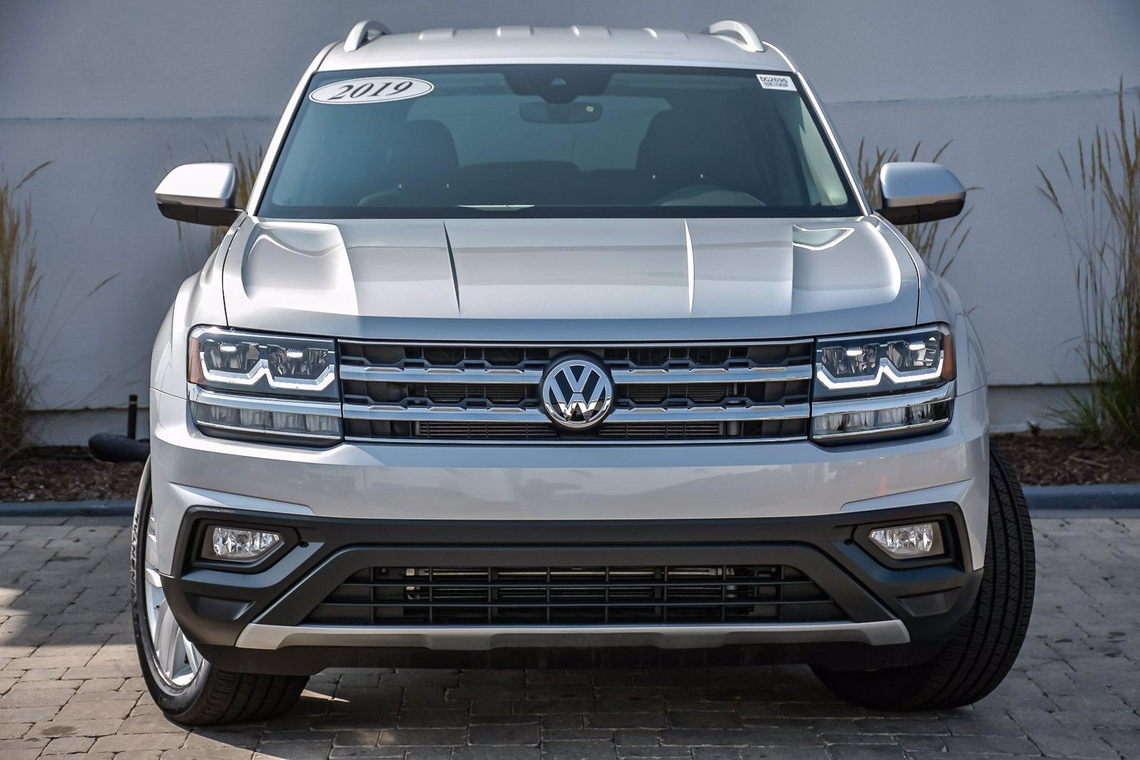 Used 2019 Volkswagen Atlas 2.0T SE, 3rd Row, w/Technology | Downers Grove, IL