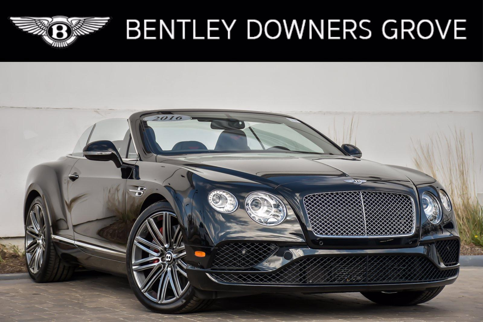 Used 2016 Bentley Continental GT W12 Convertible | Downers Grove, IL