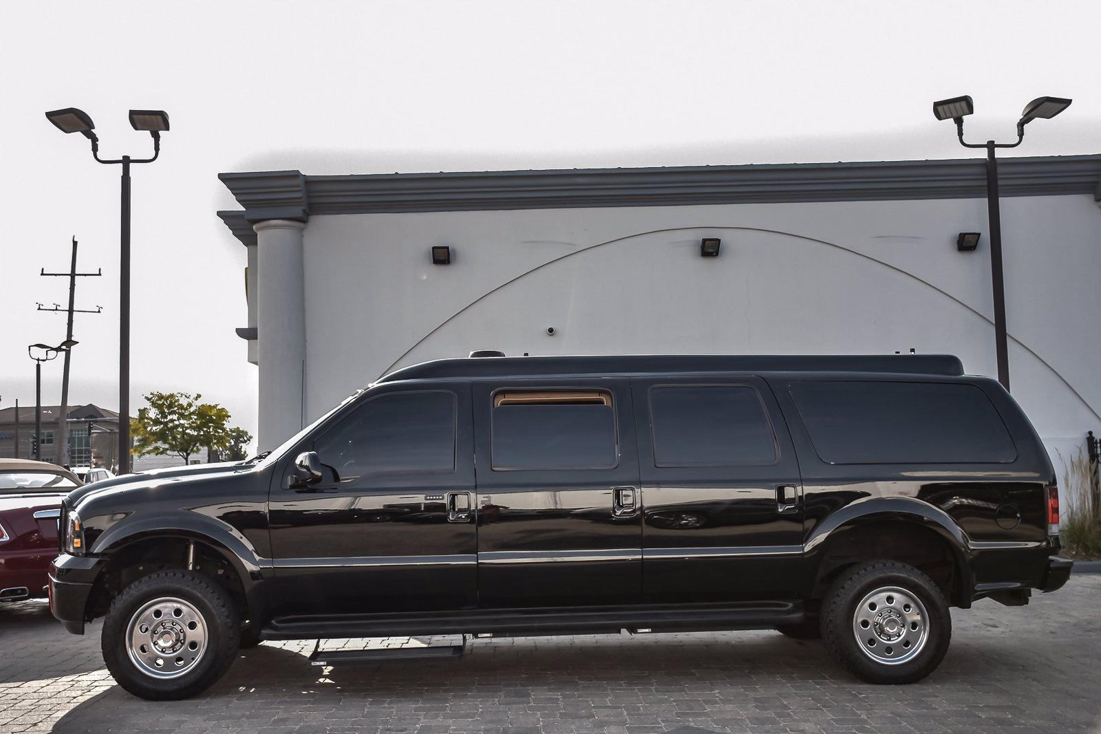 Used 2005 Ford Excursion Armored 6 Door Limousine By Becker  | Downers Grove, IL