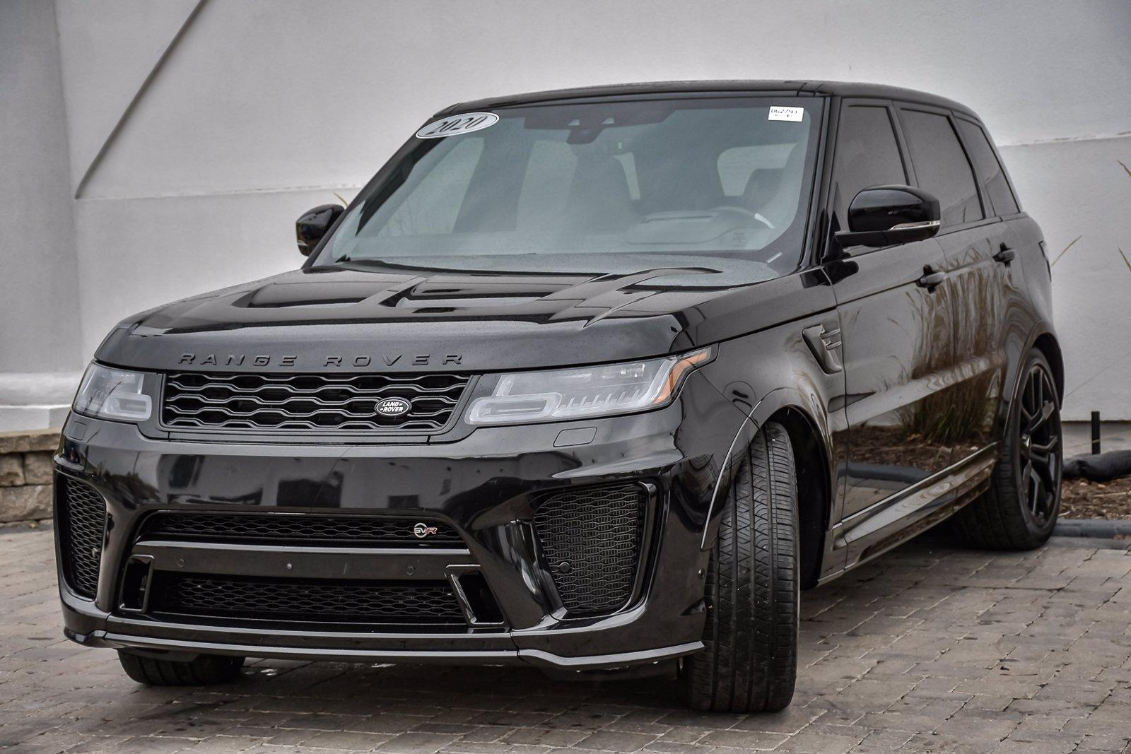 Used 2020 Land Rover Range Rover Sport SVR | Downers Grove, IL