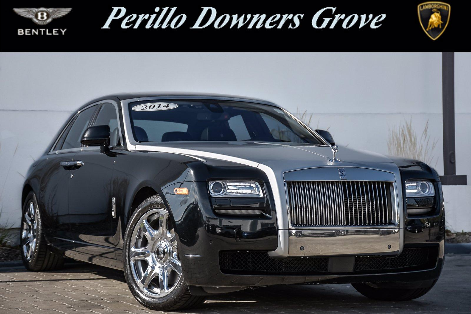 Used 2014 Rolls-Royce Ghost, Rear Theatre,    Downers Grove, IL