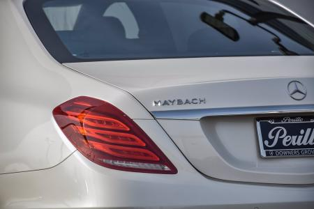 Used 2017 Mercedes-Benz S-Class Maybach S 550, Rear Ent, | Downers Grove, IL