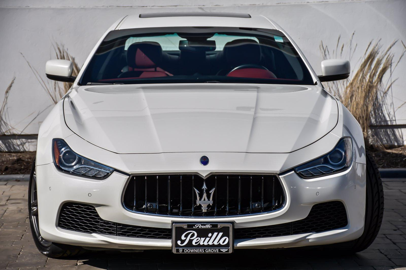 Used 2016 Maserati Ghibli S Q4 Premium/Luxury | Downers Grove, IL