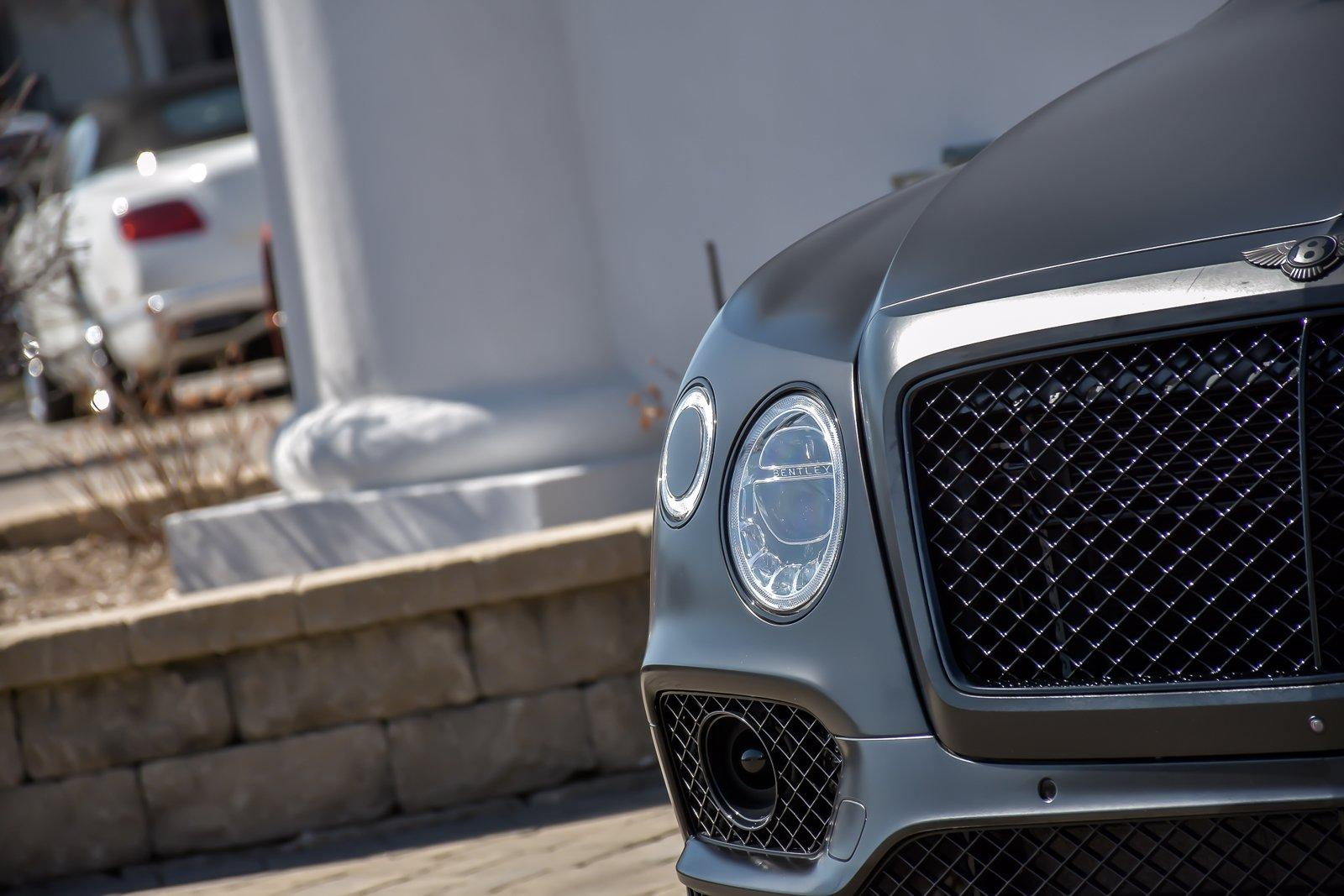 Used 2018 Bentley Bentayga W12 Black Edition  Mulliner | Downers Grove, IL