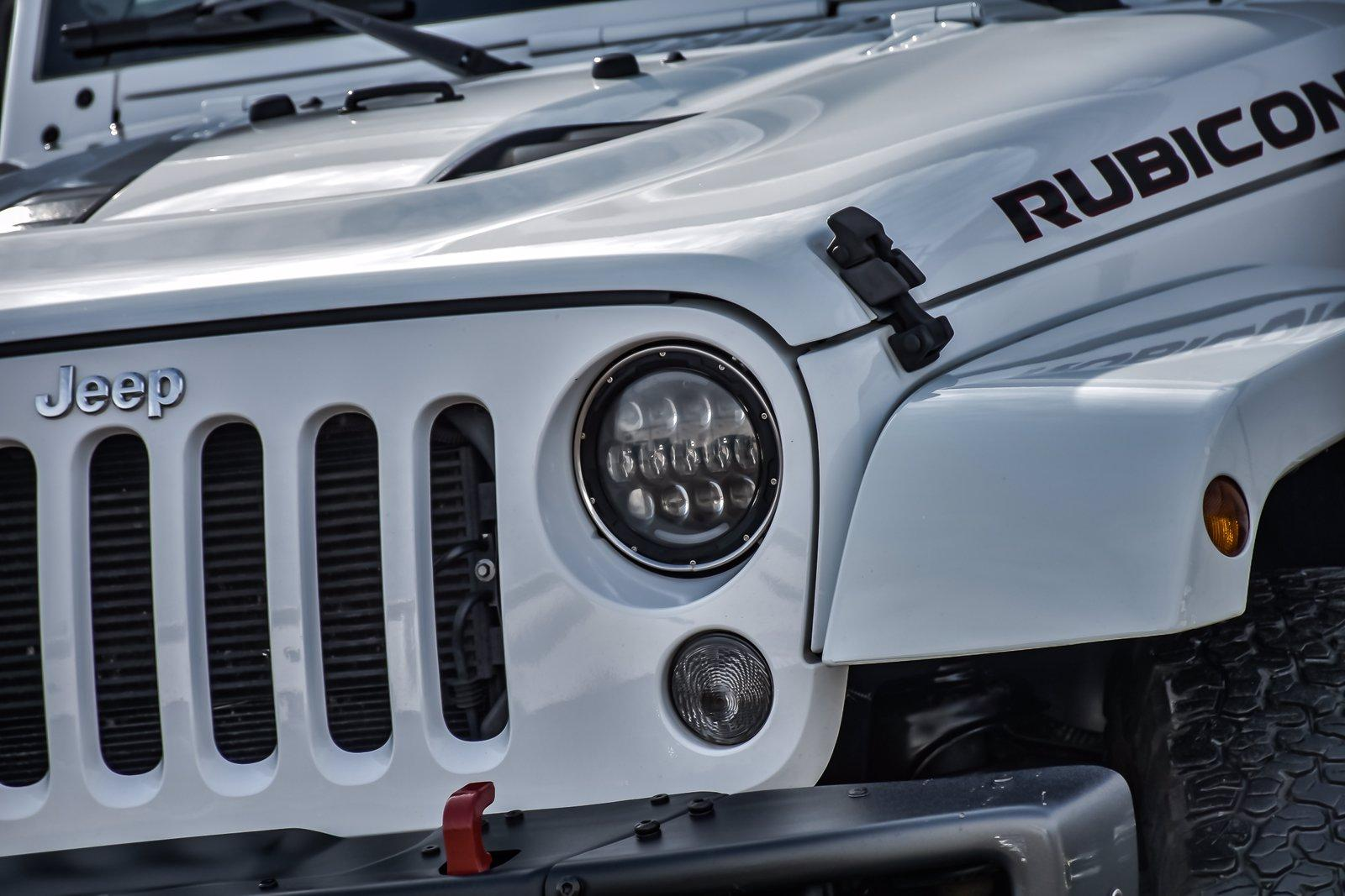 Used 2016 Jeep Wrangler Unlimited Rubicon Hard Rock | Downers Grove, IL