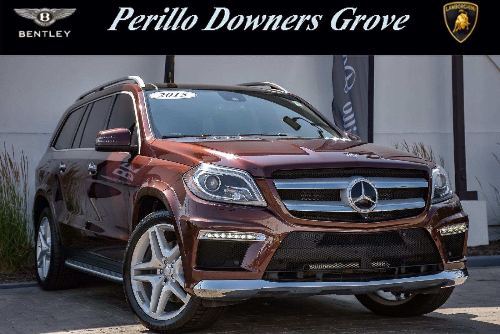 Used 2015 Mercedes-Benz GL-Class GL 550, 3rd Row, Rear Ent, | Downers Grove, IL