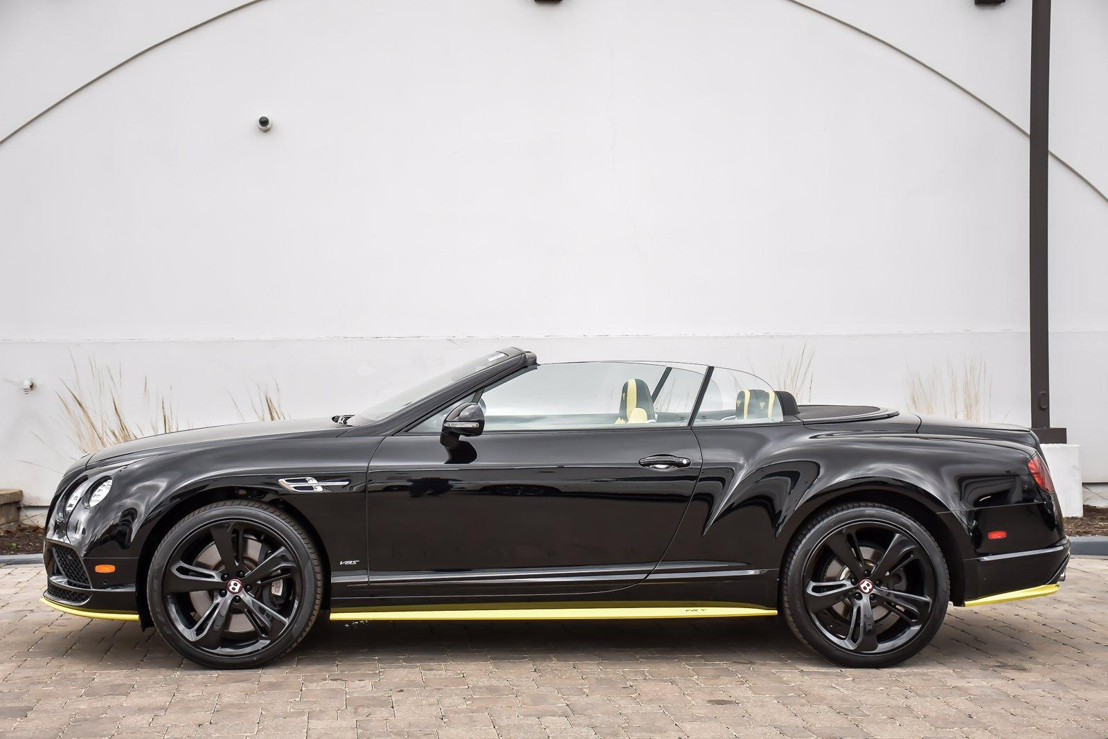 Used 2017 Bentley Continental GT V8 S Mulliner Black Edition Convertible | Downers Grove, IL