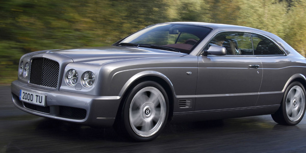 Bentley Brooklands finished in Titan Grey with 20 5-Spoke 2 Piece Wheels